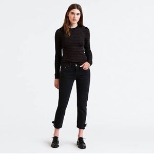 🍍 LEVI'S 501 Cropped Taper Jeans